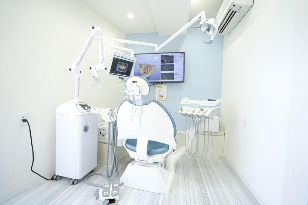 個室診療室のある王子神谷おおぞら歯科